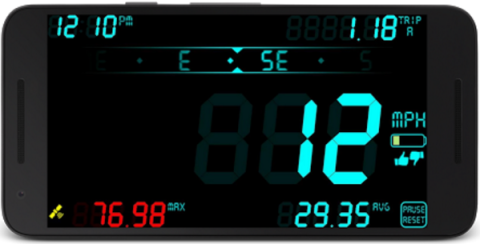 DigiHUD screen